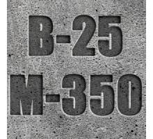 Бетон с гравийным щебнем БСТ B-25 М350