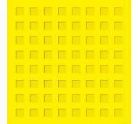 Тактильная плитка из бетона 500х500х50мм (квадратный риф)