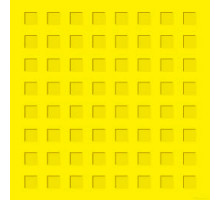Тактильная плитка из бетона 300х300х50мм (квадратный риф)